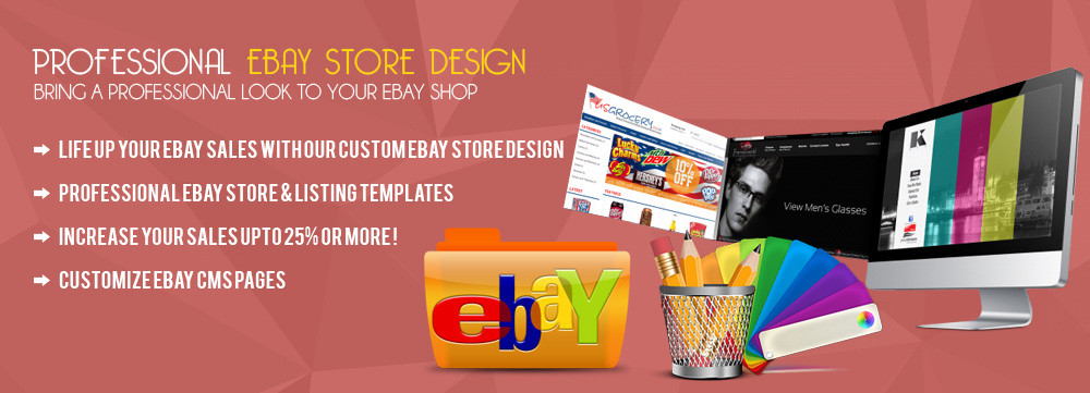 Unique eBay Store Design- <span>@ AFFORDABLE PRICE</span>