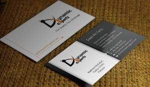 Dynamic Experts Business card